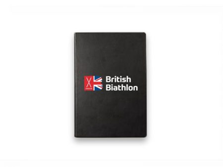 British Biathlon Notebook Black