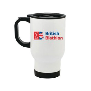 British Biathlon Travel Cup White