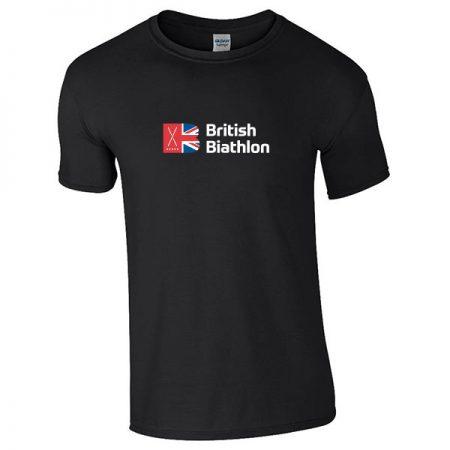 British Biathlon T Shirt Black