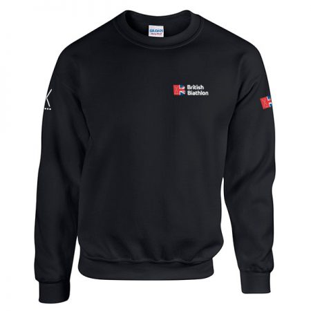 British Biathlon Sweatshirt Black