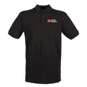 British Biathlon Polo Shirt Black
