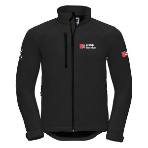 British Biathlon Softshell Jacket Black