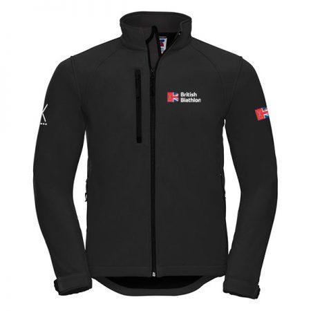 British Biathlon Softshell Jacket Black