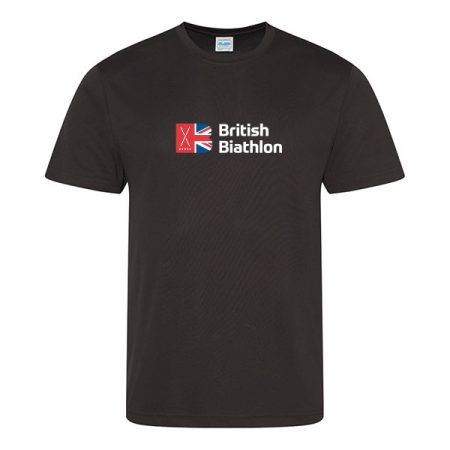 British Biathlon T Shirt Black
